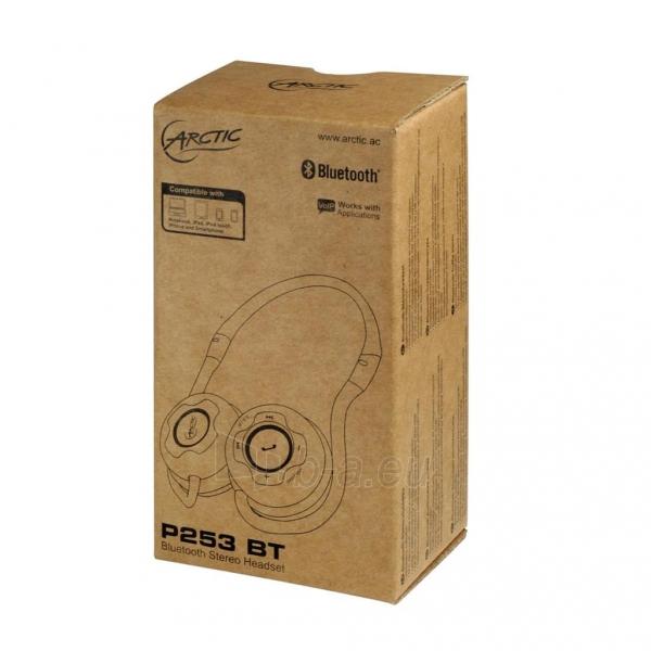 Bevielės ausinės Arctic SOUND P253 BT, Bluetooth, juodos Paveikslėlis 4 iš 5 250255090661