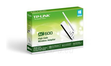 TP-Link Archer T2UH adapter USB Wireless AC600 2.4GHz, 5GHz RP-SMA Paveikslėlis 2 iš 2 250257100627