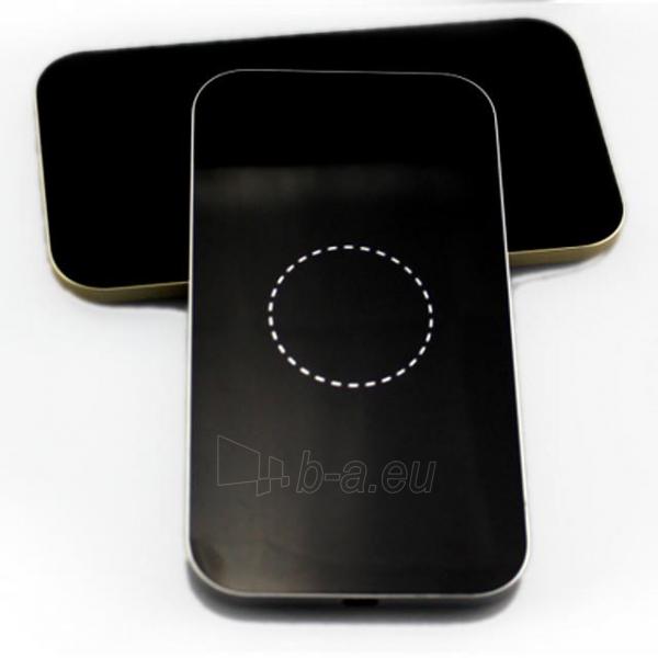 Bevielis įkrovimo įrenginys PowerNeed Sunen Wireless induction charger, Black Paveikslėlis 2 iš 6 310820044085