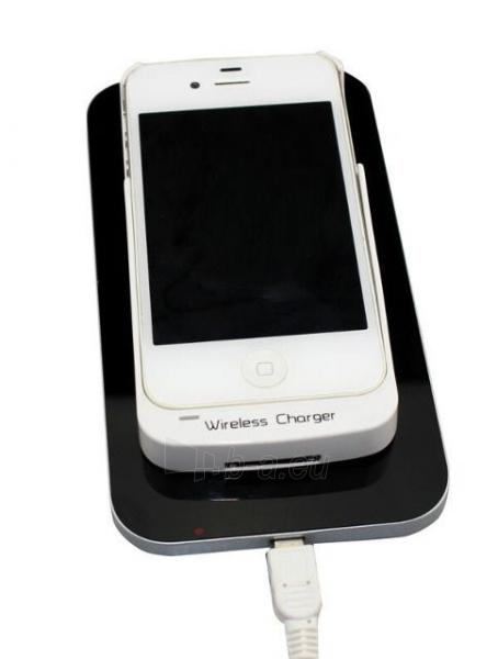 Bevielis įkrovimo įrenginys PowerNeed Sunen Wireless induction charger, Black Paveikslėlis 3 iš 6 310820044085