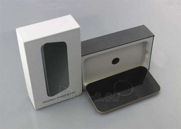 Bevielis įkrovimo įrenginys PowerNeed Sunen Wireless induction charger, Black Paveikslėlis 4 iš 6 310820044085