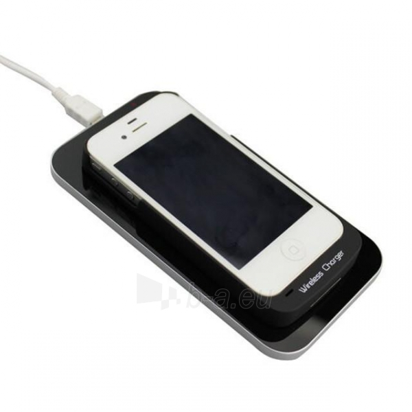 Bevielis įkrovimo įrenginys PowerNeed Sunen Wireless induction charger, Black Paveikslėlis 5 iš 6 310820044085