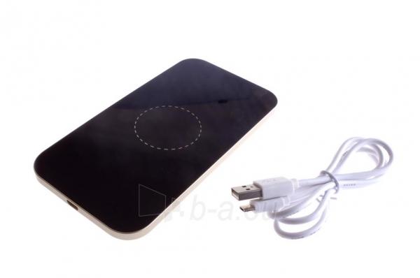 Bevielis įkrovimo įrenginys PowerNeed Sunen Wireless induction charger, Black Paveikslėlis 6 iš 6 310820044085