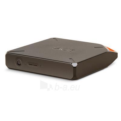 Bevielis išorinis diskas LaCie Fuel 2TB USB3, WiFi spindulys 45m, Iki 10 val Paveikslėlis 2 iš 4 310820039595