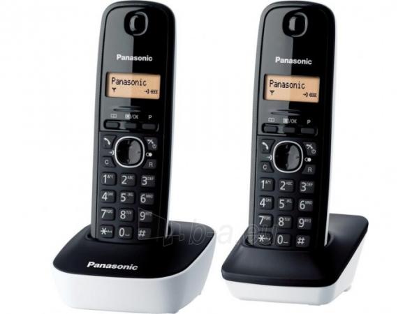 Bevielis telefonas Panasonic KX-TG1612JTW white Paveikslėlis 1 iš 1 310820153152