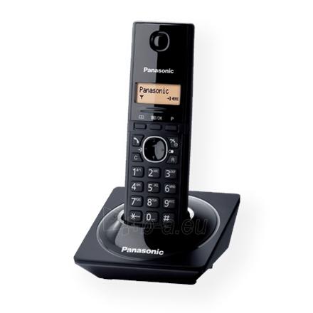 Bevielis telefonas Panasonic KX-TG1711FXB Cordless phone, Black Paveikslėlis 2 iš 2 250233000056