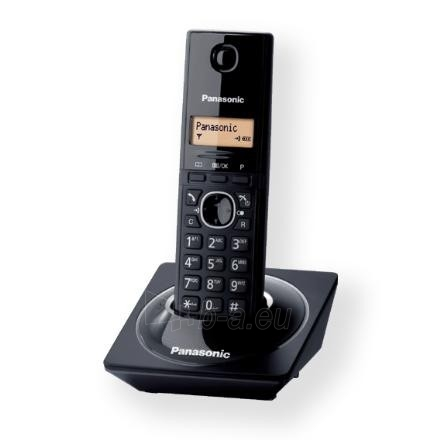 Bevielis telefonas Panasonic KX-TG1711FXB Cordless phone, Black Paveikslėlis 1 iš 2 250233000056