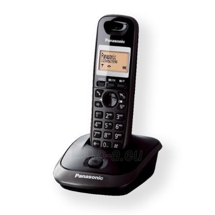 Panasonic KX-TG2511FXT Cordless phone, Black Paveikslėlis 1 iš 1 250233000058