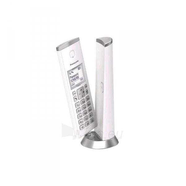 Bevielis telefonas PANASONIC KX-TGK210JTW White Paveikslėlis 1 iš 1 310820152720