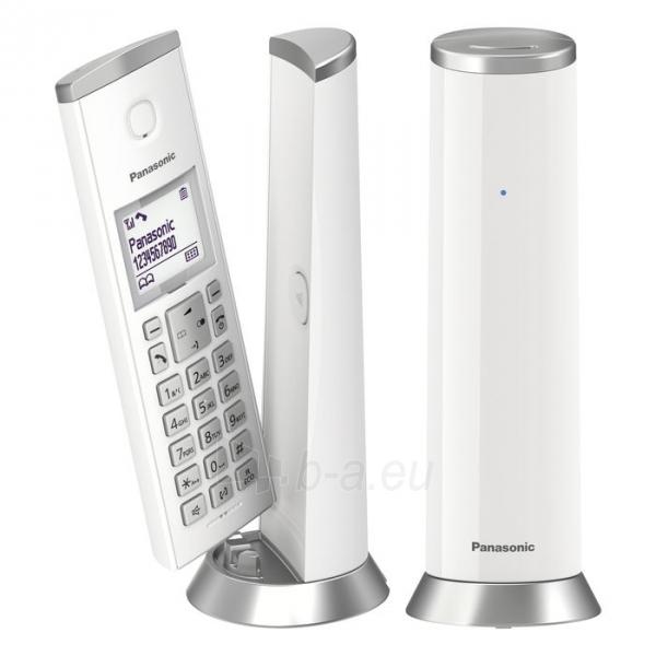 Bevielis telefonas Panasonic KX-TGK212JTW white Paveikslėlis 1 iš 4 310820167546
