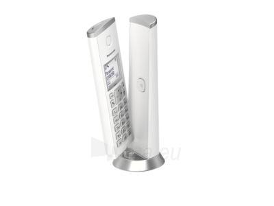 Bevielis telefonas Panasonic KX-TGK212JTW white Paveikslėlis 3 iš 4 310820167546