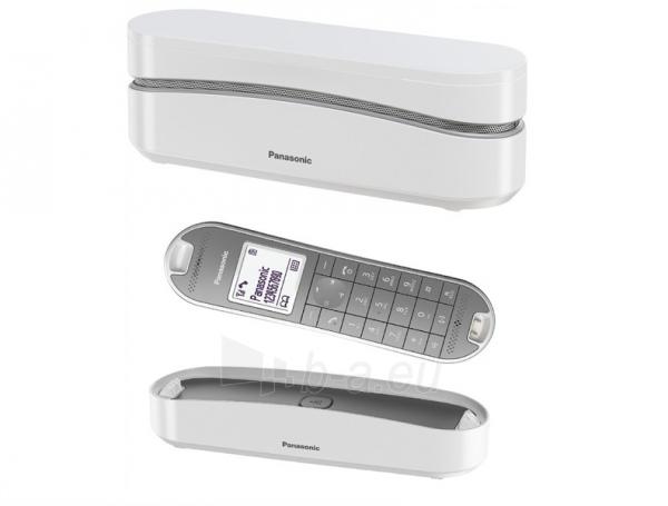 Bevielis telefonas Panasonic KX-TGK310JTW white Paveikslėlis 2 iš 2 310820153156