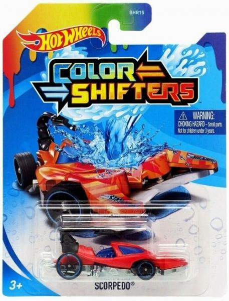 BHP15 / GKC20 Hot Wheels COLOR SHIFTERS - SCORPEDO Paveikslėlis 1 iš 1 310820245406