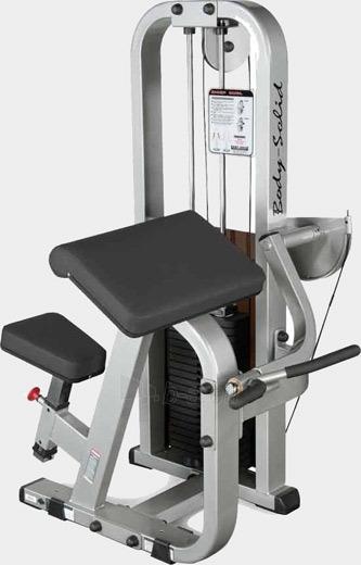 Bicepsų treniruoklis Body-Solid SBC-600G/2 Paveikslėlis 1 iš 1 250575000140