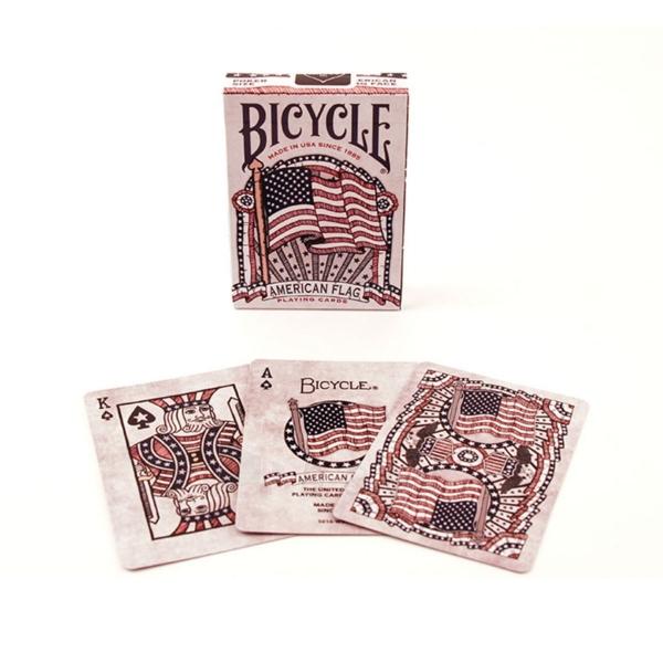 Bicycle American Flag kortos Paveikslėlis 9 iš 10 310820125480
