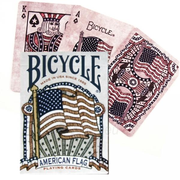 Bicycle American Flag kortos Paveikslėlis 8 iš 10 310820125480