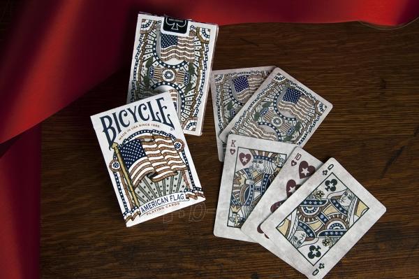 Bicycle American Flag kortos Paveikslėlis 7 iš 10 310820125480