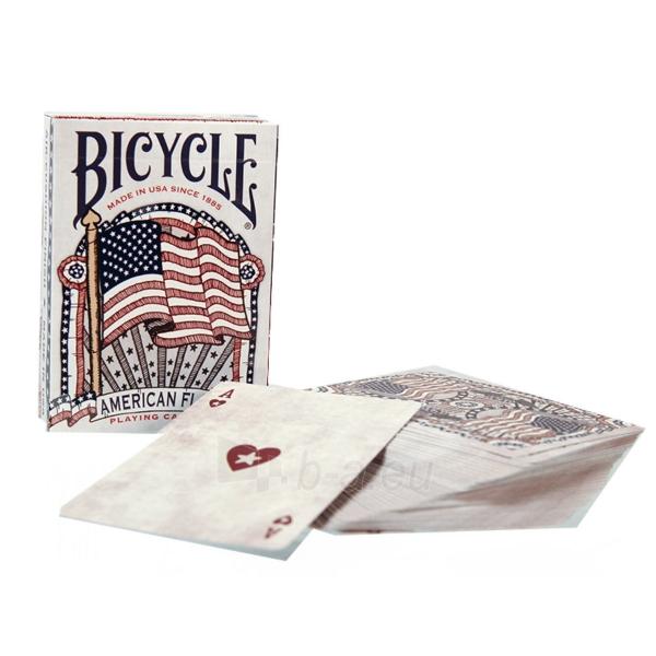 Bicycle American Flag kortos Paveikslėlis 4 iš 10 310820125480