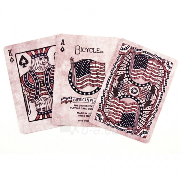 Bicycle American Flag kortos Paveikslėlis 3 iš 10 310820125480