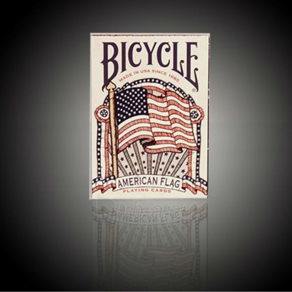 Bicycle American Flag kortos Paveikslėlis 2 iš 10 310820125480