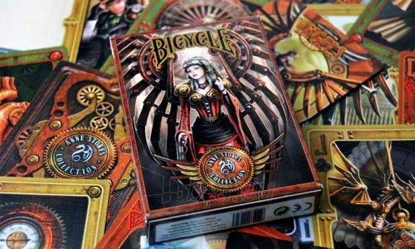 Bicycle Anne Stokes Steampunk kortos Paveikslėlis 3 iš 10 251010000170