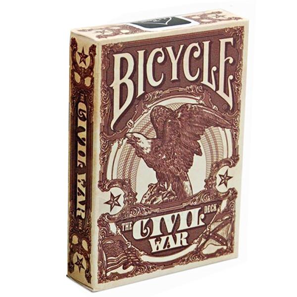 Bicycle Civil War kortos (Raudonos) Paveikslėlis 1 iš 9 251010000174