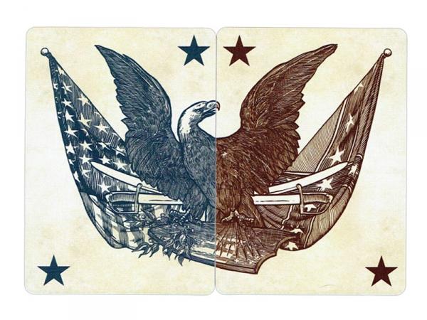 Bicycle Civil War kortos (Raudonos) Paveikslėlis 3 iš 9 251010000174
