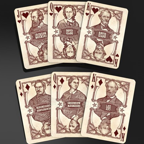 Bicycle Civil War kortos (Raudonos) Paveikslėlis 4 iš 9 251010000174