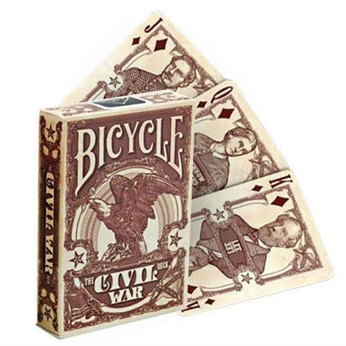 Bicycle Civil War kortos (Raudonos) Paveikslėlis 9 iš 9 251010000174