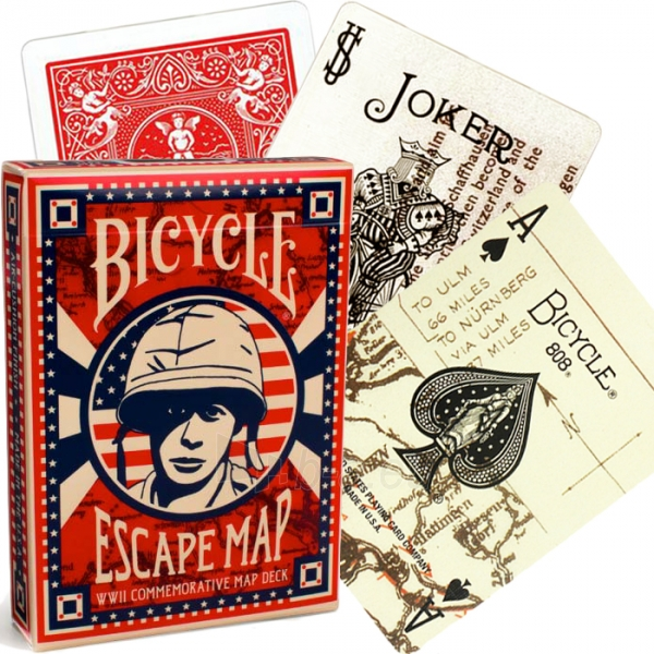 Bicycle Escape Map kortos Paveikslėlis 9 iš 15 251010000213