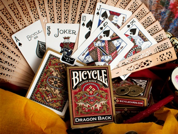 Bicycle Gold Dragon kortos Paveikslėlis 14 iš 15 251010000217