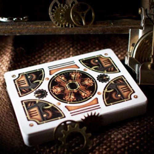 Bicycle Gold Steampunk kortos Paveikslėlis 8 iš 12 251010000218