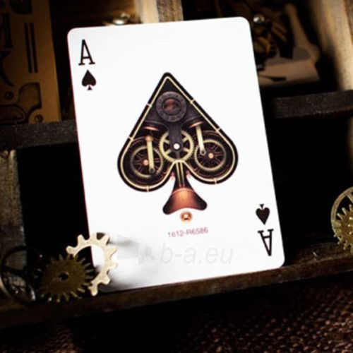 Bicycle Gold Steampunk kortos Paveikslėlis 7 iš 12 251010000218