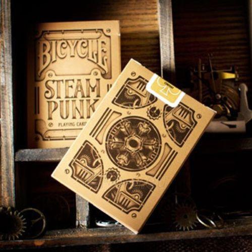 Bicycle Gold Steampunk kortos Paveikslėlis 3 iš 12 251010000218