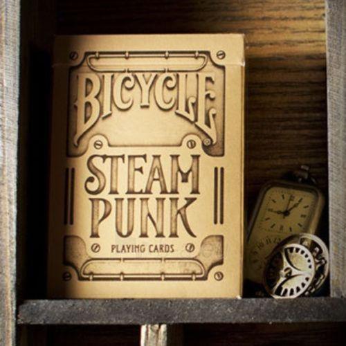 Bicycle Gold Steampunk kortos Paveikslėlis 2 iš 12 251010000218