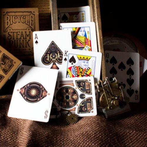 Bicycle Gold Steampunk kortos Paveikslėlis 12 iš 12 251010000218