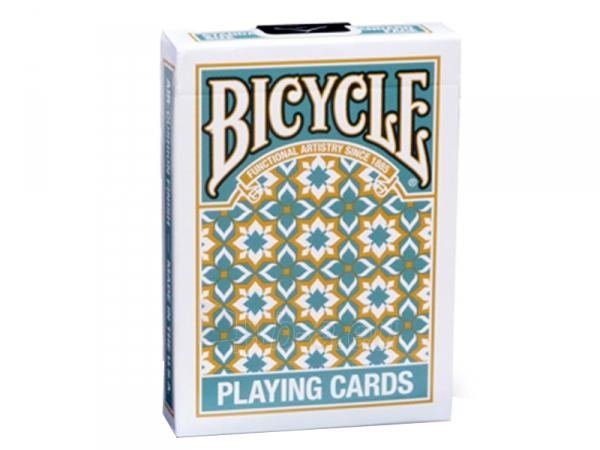 Bicycle Madison kortos (Turkio spalvos) Paveikslėlis 1 iš 12 251010000225