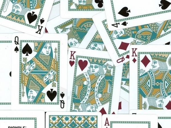 Bicycle Madison kortos (Turkio spalvos) Paveikslėlis 4 iš 12 251010000225