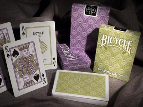 Bicycle Peacock kortos (Žalios) Paveikslėlis 11 iš 12 251010000228