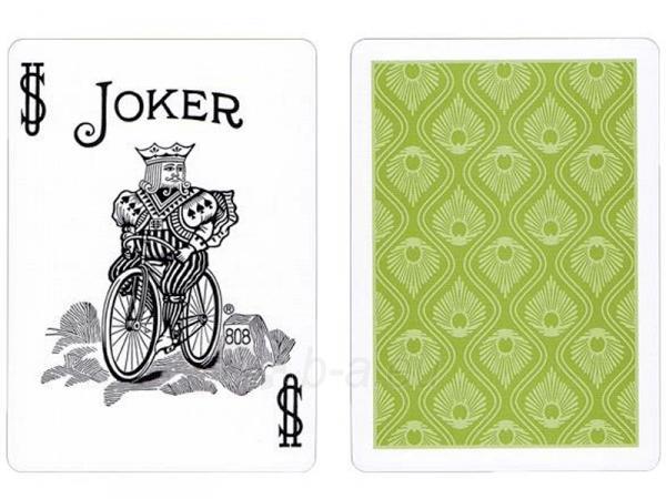 Bicycle Peacock kortos (Žalios) Paveikslėlis 9 iš 12 251010000228
