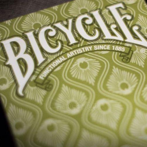 Bicycle Peacock kortos (Žalios) Paveikslėlis 4 iš 12 251010000228