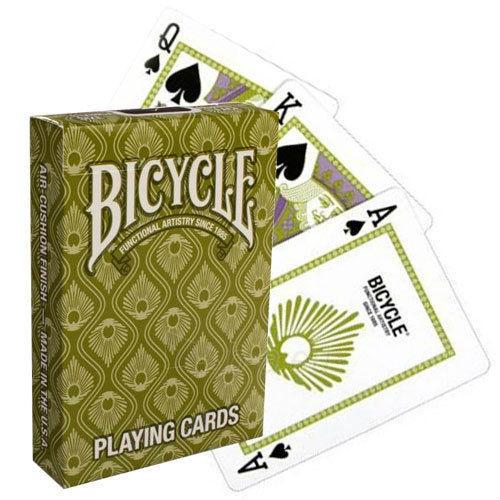 Bicycle Peacock kortos (Žalios) Paveikslėlis 2 iš 12 251010000228