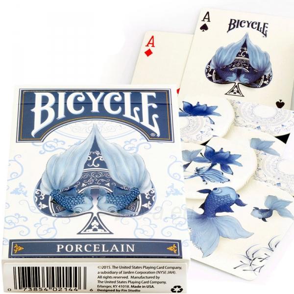 Bicycle Porcelain kortos Paveikslėlis 1 iš 7 310820125966