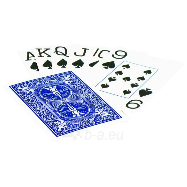 Bicycle Rider Jumbo pokerio kortos (Mėlynos) Paveikslėlis 1 iš 5 251010000233