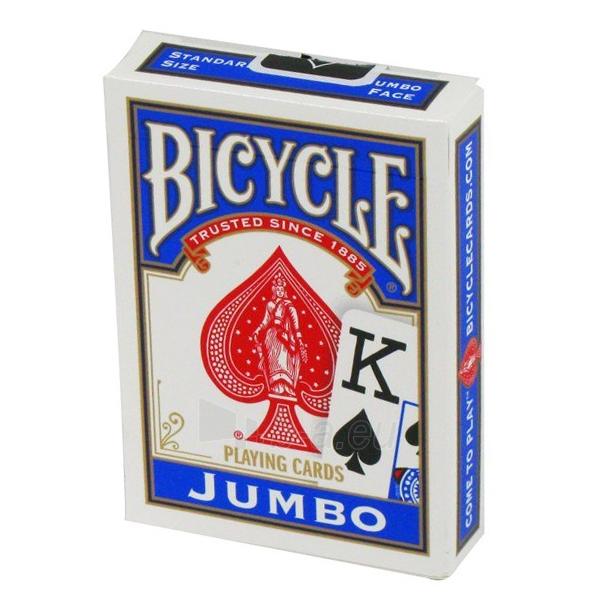 Bicycle Rider Jumbo pokerio kortos (Mėlynos) Paveikslėlis 3 iš 5 251010000233