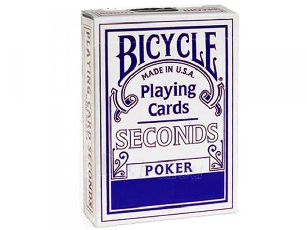 Bicycle Seconds kortos (Mėlynos) Paveikslėlis 1 iš 4 251010000239