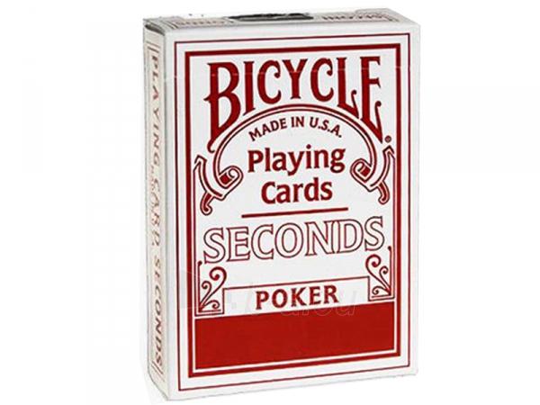 Bicycle Seconds kortos (Raudonos) Paveikslėlis 2 iš 5 251010000240