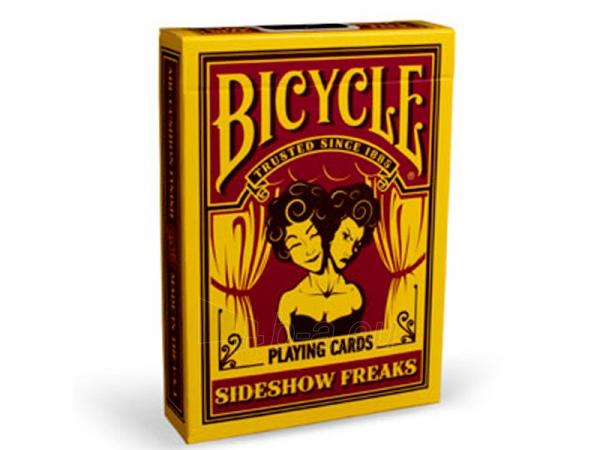 Bicycle Sideshow Freaks kortos Paveikslėlis 1 iš 16 251010000241