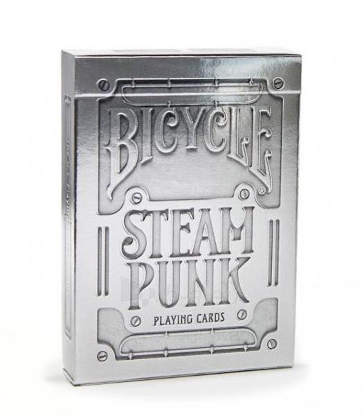 Bicycle Silver Steampunk kortos Paveikslėlis 1 iš 16 251010000242