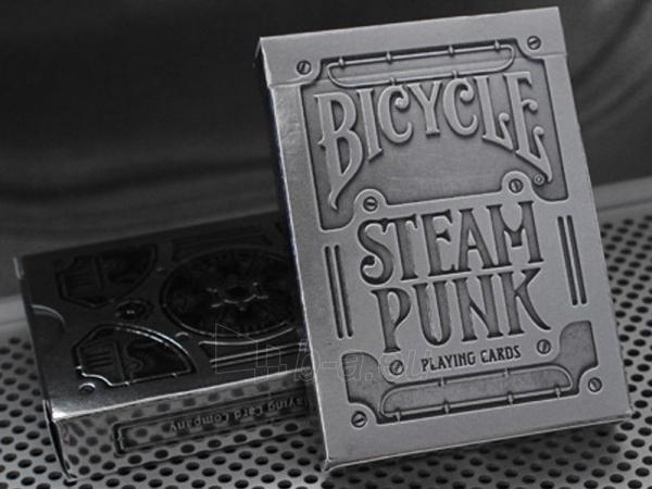 Bicycle Silver Steampunk kortos Paveikslėlis 11 iš 16 251010000242